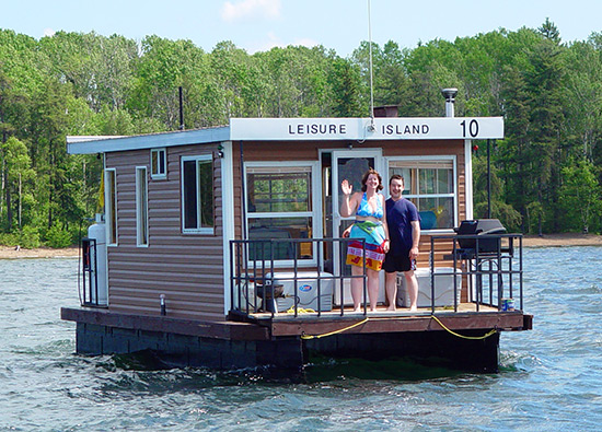 Leisure Island Houseboat Rentals in Temagami Ontario Houseboats